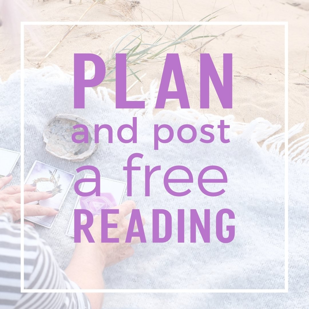 plan and post a free reading
