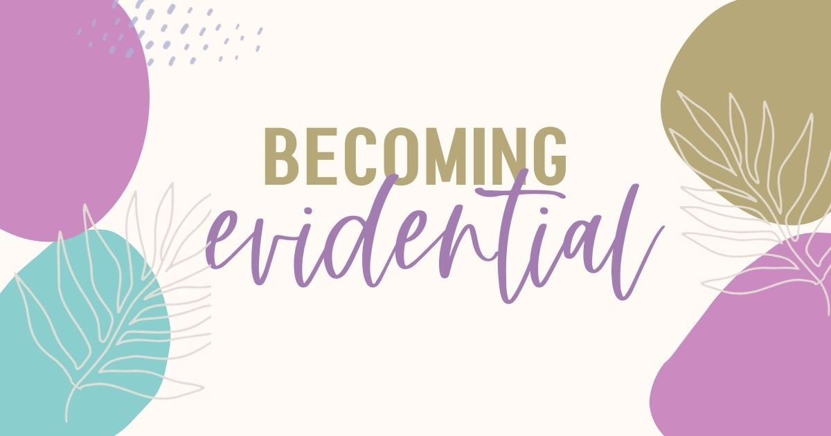 Becoming evidential